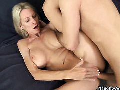 Emma Starr with huge melons is a slut who wants to ride James Deens rod forever