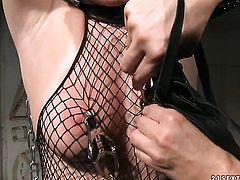 Blonde is on the edge of nirvana after lesbian sex with Katy Parker