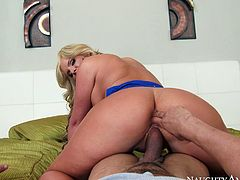 Wow babe Phoenix Marie hops on stiff cock reverse. Her gorgeous big ass is everything your lust desires. Just enjoy watching pornstar sex video for free.