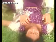 Desi lady exposed and enjoyed outdoor Part - 1