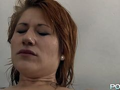 Light haired brutal lesbo slut applied big sex toy to please loose asshole of that dumpy sandy haired hooker. She lied on table and moaned ardently. Look at that perverted lesbian fuck in Porn XN sex clip!