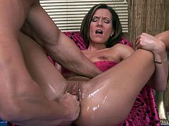 Mature chick Maia fucks just for sperm