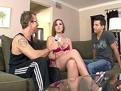 Brooke Lee Adams Sucking And Fucking Her Lucky Guy 420