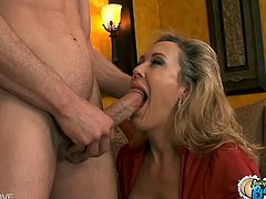 Checkout that round and bubble butt milf Brandi Love in this hot hardcore video.See how this busty milf bends down and gets her cunt fucked hard and deeply by a big cock.