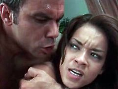 Daisy Marie doggystyle sex and deepthroat sucking