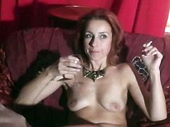 Do you like redheads? And do you like sexy MILFs? If yes, than you should watch this video. This hot czech milf is a dream of every horny guy. She is fine as hell.