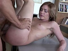 Make sure you have a look at this amazing hardcore scene where the beautiful Dakoda Brookes is fucked silly by her teacher after class.