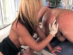 Alluring pornstar Nikki Sexx licks butthole of her lover and shoves her naughty fingers inside this amazing hole