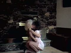 Are you looking for spicy lesbian retro video? You are lucky one to enjoy watching it right here and right now for free. Blonde girl polishes her lesbians girlfriend and makes her orgasm.
