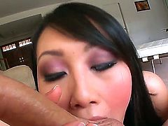 Another good P.O.V. with an Asian beauty Evelyn Lin, who is showing some really good skills in sucking a big cock and pleasing man, a blowjob which any man would like to have.