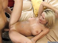 Danny Wylde gets pleasure from fucking passionate Emma Starrs muff