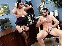 Charles Dera wants to fuck fabulously hot Sophia Lomelis neat love tunnel forever