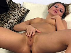 Nessy Wild is a beautiful blonde with an amazing ass giving you a solo scene to jerk off to. Watch this babe playing with her wet pussy just for you.