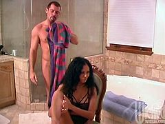 Take a look at this hardcore scene where the beautiful Latina Olivia Del Rio is fucked silly until her mouth's filled by warm cum.