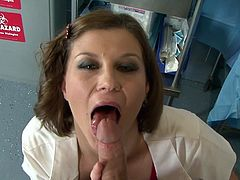 Check out big boobs Sara Stone enjoying rough pleasures with her doctor