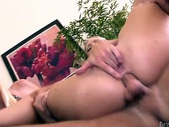 Stupid wifey waited until her stud ends buttfucking her torrid kooky