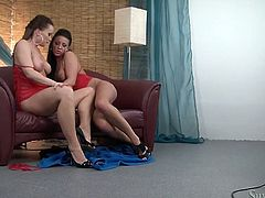 You are right here to be pleased with hot tempered brunette lesbians pleasing each others supple bodies on a camera. They are so insatiable and stunning.