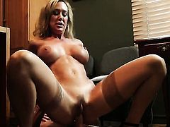 Brandi Love getting down and dirty in steamy sex action with Johnny Sins