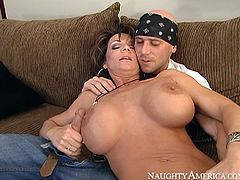 No other slut can please cock with tongue and lips like this experienced mature woman does. Her cock sucking skills are above all praise! Damn, this woman is a wild one!