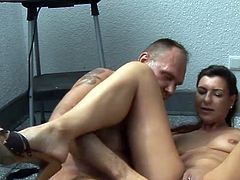 Day ends nasty for greedy Donna Lucia as she receives tasty dick from her boss to play with in hardcore