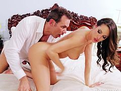 Slutty chick Kortney Kane fucks her friend's fiance Steven St Croix