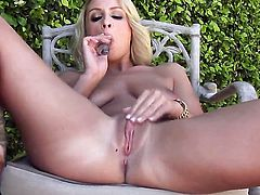 Lexi Swallow has toy-hungry fuck hole