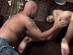 Massage soon turns into wild cock sucking scene for young and appealing Zoe Voss in need to swallow