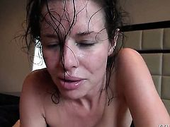 Manuel Ferrara has unthinkable oral sex with Unthinkably sexy hoochie Veronica Avluv before anal fun
