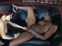 Mark your calendars and clear all your appointments for this nasty interracial lesbian hotties threeway pussy playing.