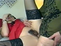 Amazing and horny babe gets he cunt fucked missionary meanwhile kinky whore gives a nice blowjob. Have a look at these chicks in The Classic Porn sex clip.