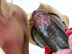Hotties have always loved to share black snakes during their dirty and wild anal trio adventures