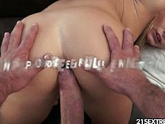 21 Sextreme brings you a hell of a free porn video where you can see how the alluring blonde Vanda Lust gets assfucked pov style into heaven in this wild free porn video.