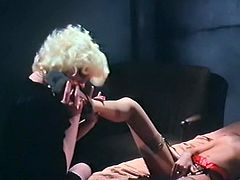 Kinky and sexy dark haired bitch gets her cunt fucked doggystyle meanwhile sexy lesbians lick each other. Have a look at these bitches in The Classic Porn sex video.