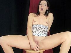 She is quite handy as her shaved twat is being well stimulated and enlarged during serious pussy finger fucking show