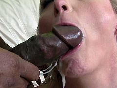 Big black cock for her chubby cunt in heats is all this blonde mature hottie ever wanted for one amazing adventure