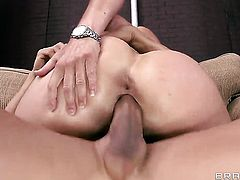 Tommy Gunn explores the depth of unthinkably hot Rhylee Richardss wet snatch with his cock
