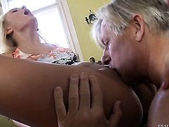 Christoph Clark is horny as hell and cant wait any longer to bang Ivana Sugar in her cornhole