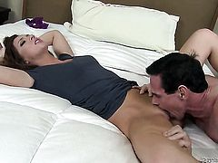 Maddy OReilly loves to blow and cant say No to hot dude Peter North