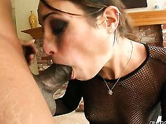 Amber Rayne wants Prince Yahshua shove his snake in her mouth again and again
