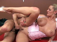 Have a look at this hardcore scene where this lucky stud gets head from his ballet instructor Ms. Zoey Holiday before he nailed this smoking hot milf.