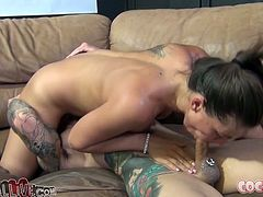 You won't believe how talented these naughty gals are until you watch this awesome cock sucking competition. These cock crazed chicks will you make you cum and dribble all over your keyboard.