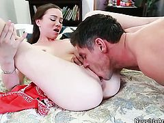 Mick Blue cant wait any longer to stuff his rod in fuck hungry Capri Andersons twat
