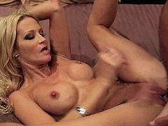 Make sure you don't miss stunning blonde MILF Jessica Drake starring in one of her latest movies named Underworld. She got her pussy eaten before getting banged hard.