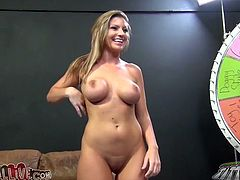 Big breasted blonde Brianna Banks gets fucked in doggy position