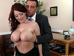 Kinky and attractive dark haired curvy bitch gives an unforgettable blowjob to her dude. Have a look at this chick in Brazzers Network sex clip.