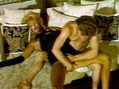 Take a look at this hot scene where this horny shemale sucks on this guy's thick cock before being fucked silly by him.