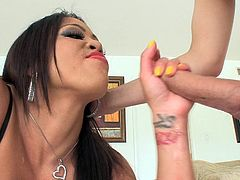 lingerie clad asian slut take cock in her mouth @ asian fuck faces #2