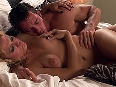 Johnny Castle and Angelina Armani are fucking