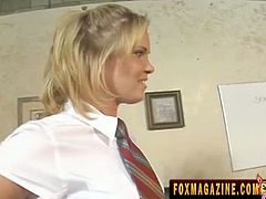 Slutty Sasha as schoolgirl have the talent to seduce other people especially her teachers. Using her voluptuous body and luscious pink goodies, teachers gave her indecent proposals everytime, including fucking on her tight asshole
