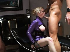 Chris Charming wants to fuck adorable Nicole Sheridans neat wet hole forever